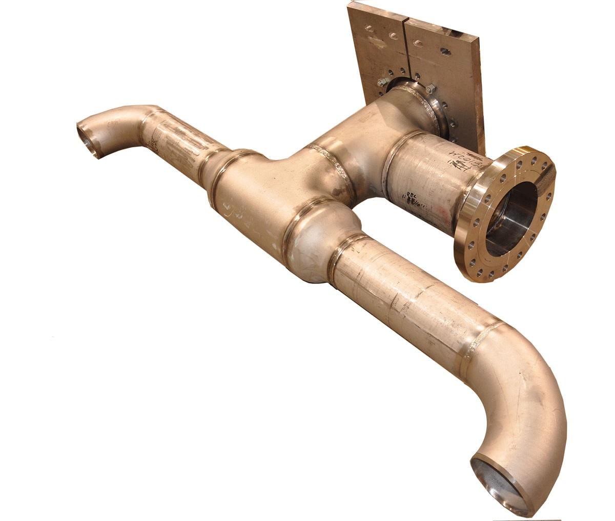 Lube Power Piping Spool Fabrication